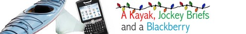 banner christmas kayak